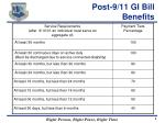 post 9 11 gi bill benefits