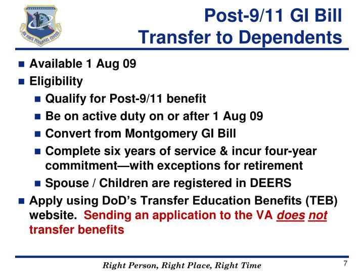 Post-9/11 GI Bill