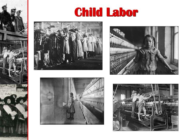what factors in the 1800s do you believe contributed to the growth of the american labor movement Why do you think young children continued to do heavy work in manchester factories even after the factory act what does this suggest about the relative power of industry compared to government owners had no fear of the law, so they continued to use child labor.