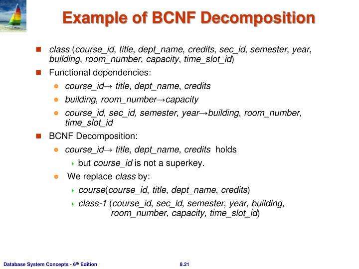 PPT - Chapter 8: Relational Database Design PowerPoint Presentation ...