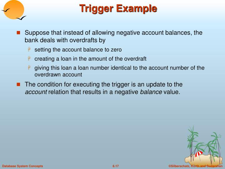 Trigger Example