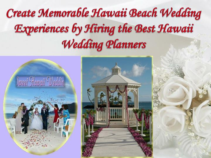 ppt best hawaii wedding planners powerpoint presentation id 3853190