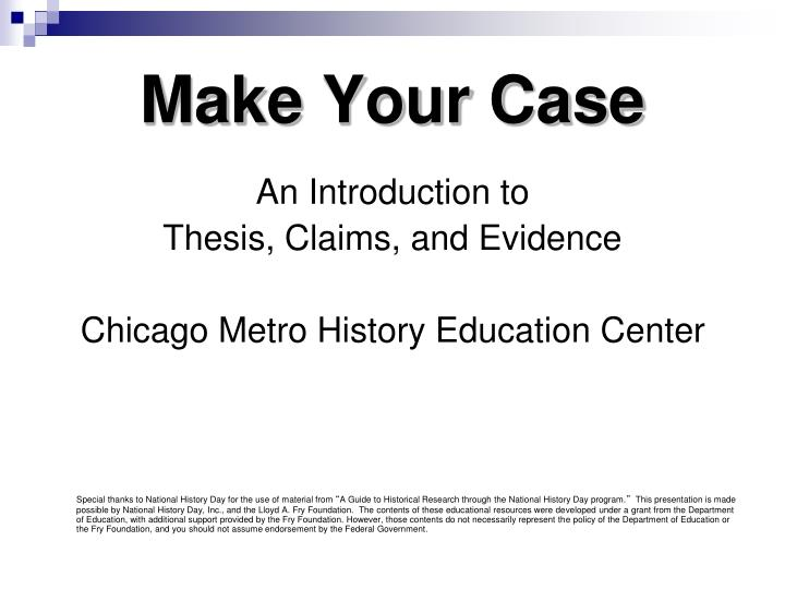 introduction of a thesis The thesis statement is or argue with your thesis a strong thesis statement a good practice is to put the thesis statement at the end of your introduction.
