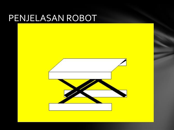 PENJELASAN ROBOT