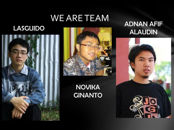 We are team