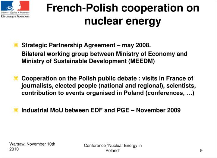 PPT French Energy Mix And Nuclear Energy Polish French