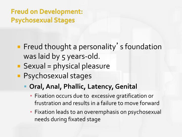 freuds theory of psychosexual development essay