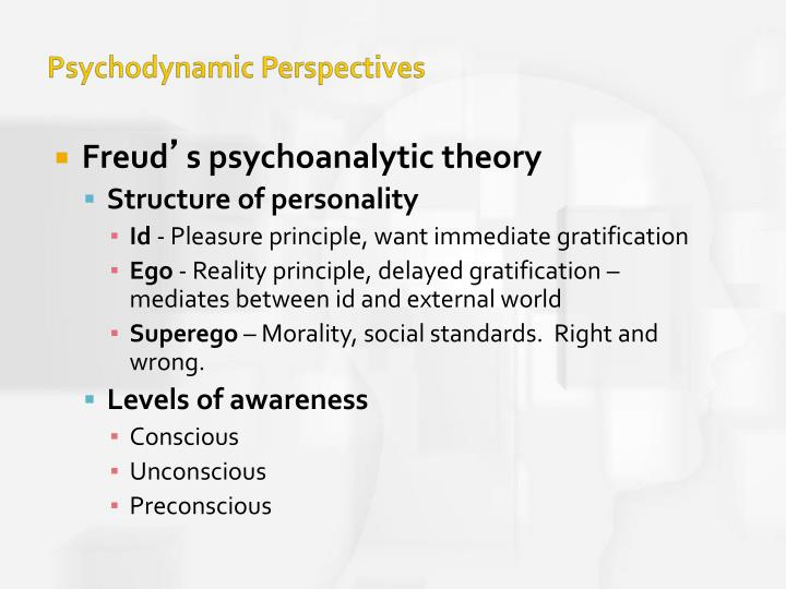 freuds psychodynamic theory Start studying psychology final - psychodynamic theory learn vocabulary, terms, and more with flashcards, games, and other study tools.