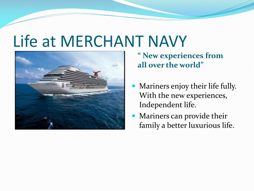 PPT - TMC Services Join Merchant Navy For A Bright Future