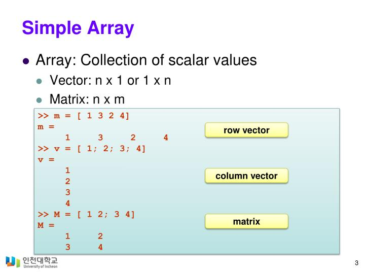 Simple array