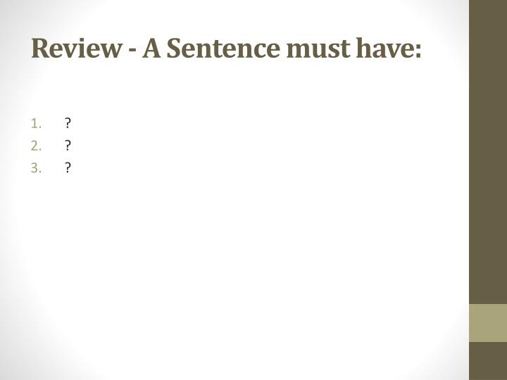 Sentence (linguistics) - Wikipedia