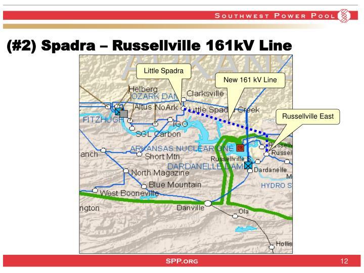 (#2) Spadra – Russellville 161kV Line