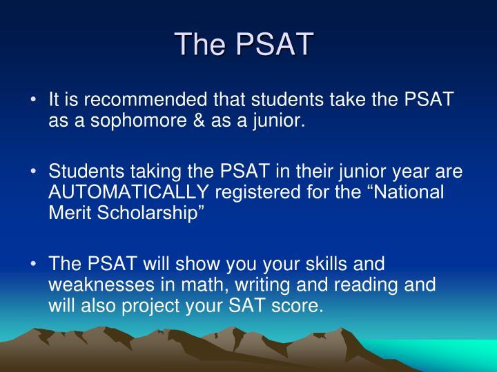 The PSAT