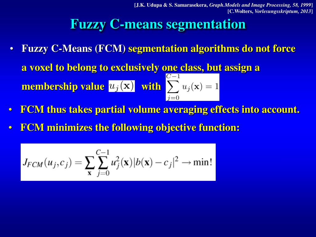 PPT - Mathematical Methods for the Segmentation of Medical