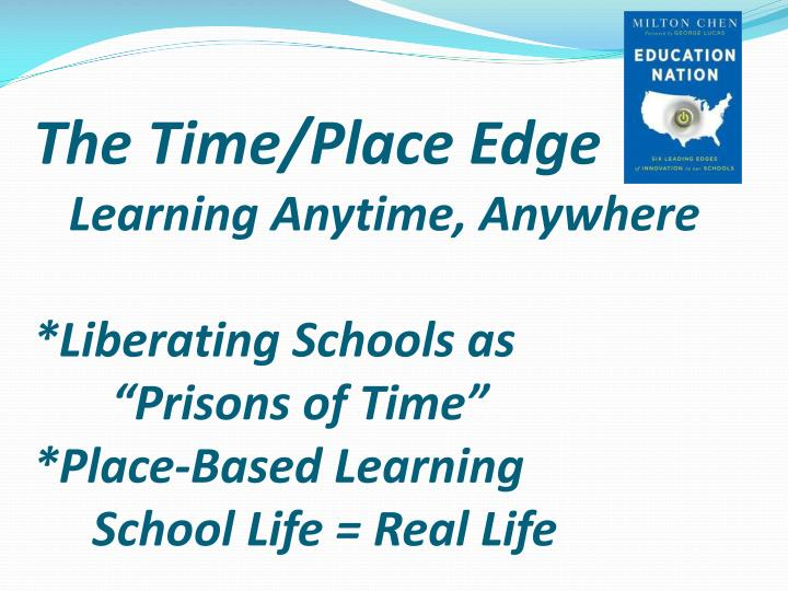 The Time/Place Edge