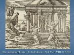 the metamorphosis solis edition 1581 met viii 707 710