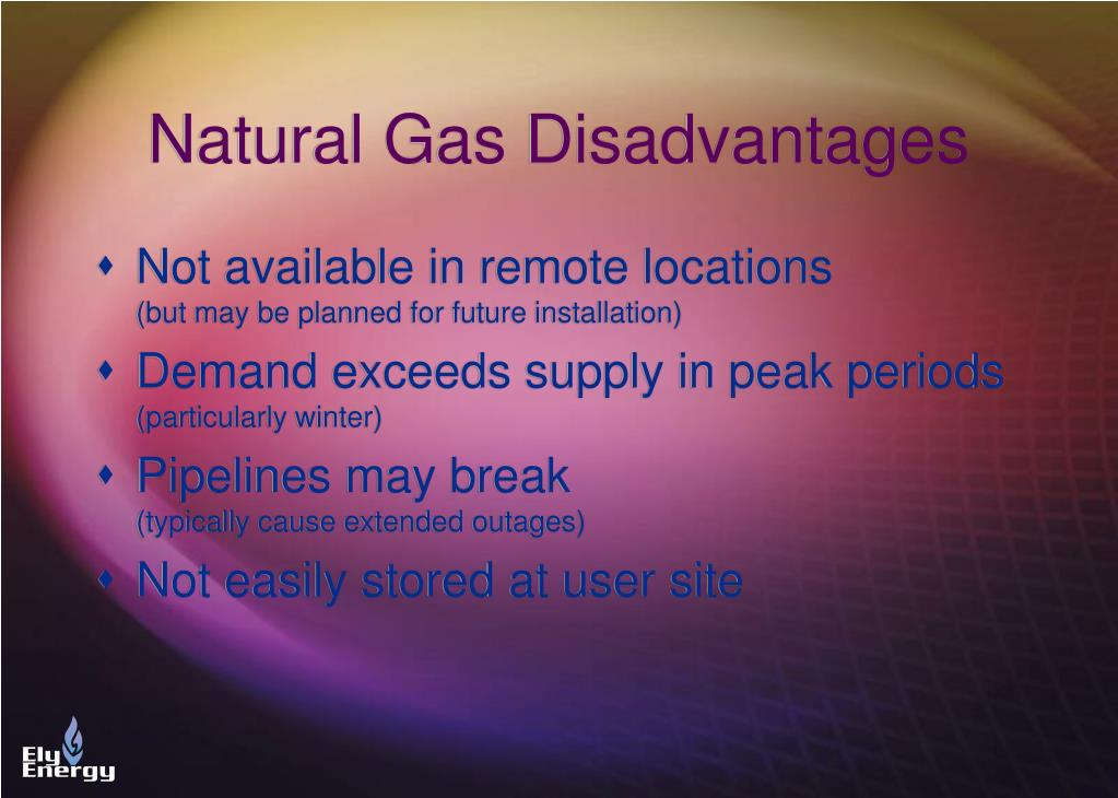 Disadvantages Of Natural Gas >> Ppt Propane Air Sng In The World Of Natural Gas