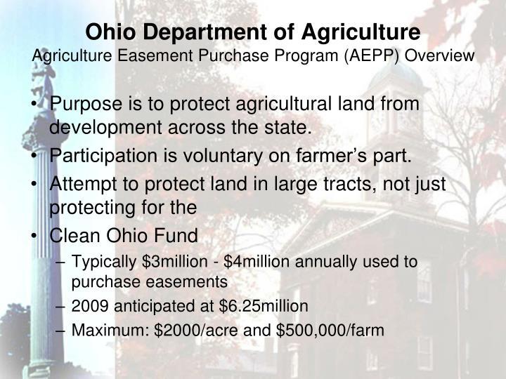 Ohio Department of Agriculture