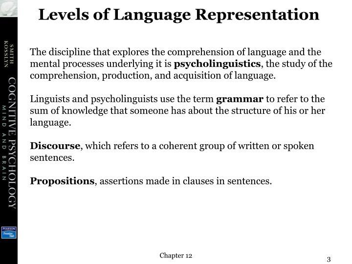 production and comprehension of utterances rle linguistics b grammar schlesinger i m