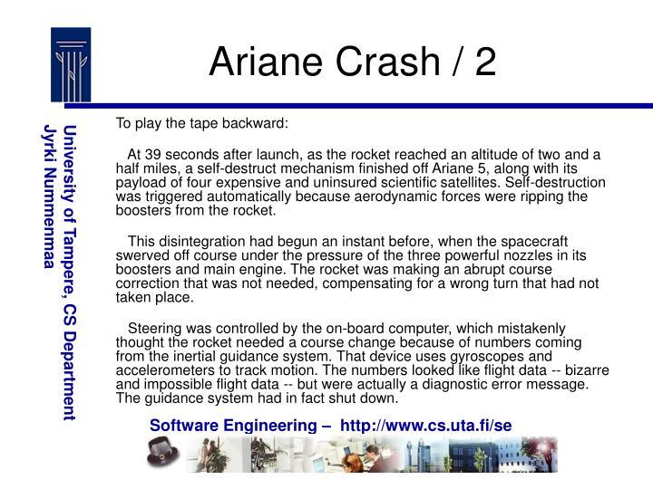 Ariane Crash / 2