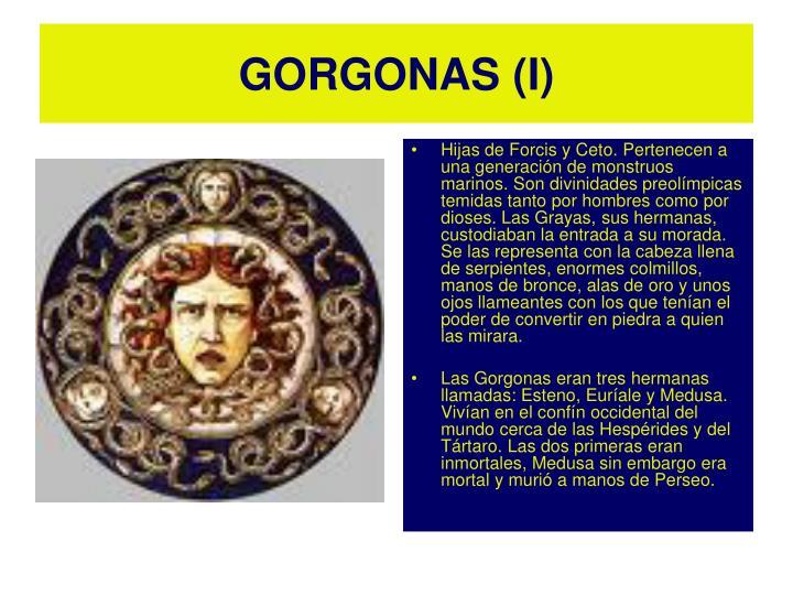 GORGONAS (I)