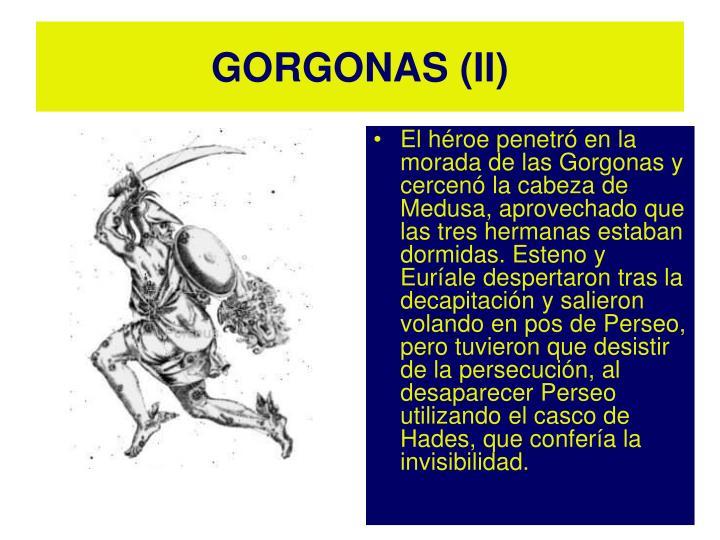 GORGONAS (II)