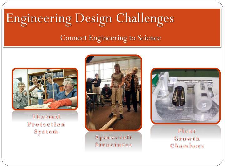 Engineering Design Challenges