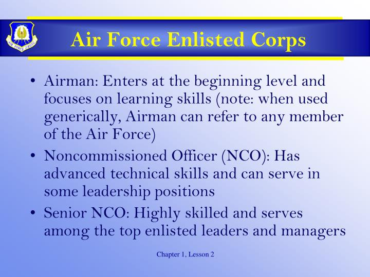 Air Force Enlisted Corps
