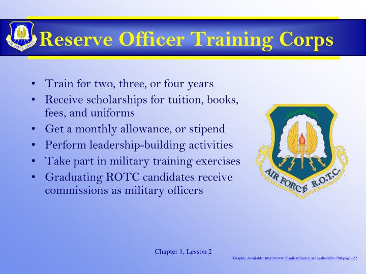Reserve Officer Training Corps