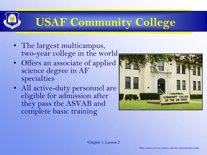 USAF Community College