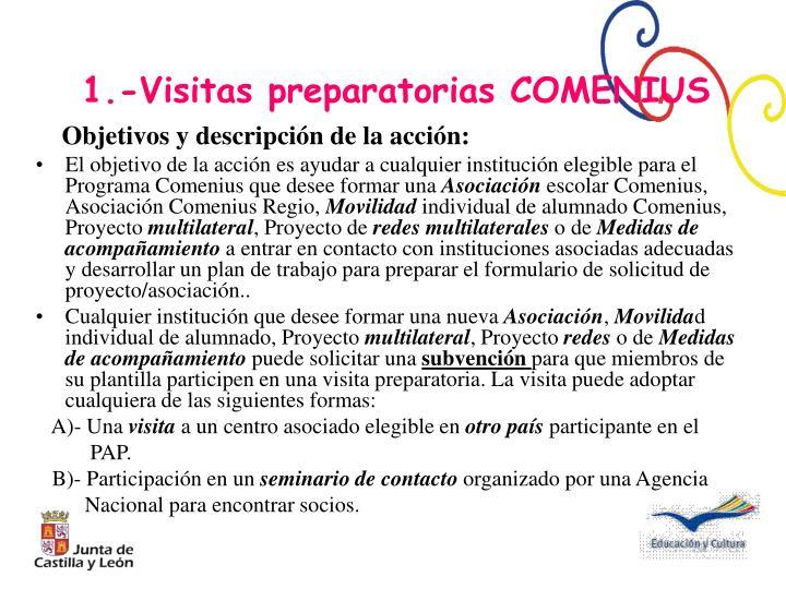Objetivos y descripción de la acción: