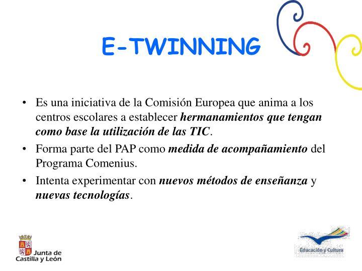 Es una iniciativa de la Comisión Europea que anima a los centros escolares a establecer