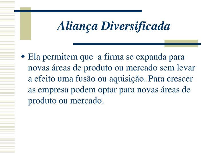 Aliança Diversificada