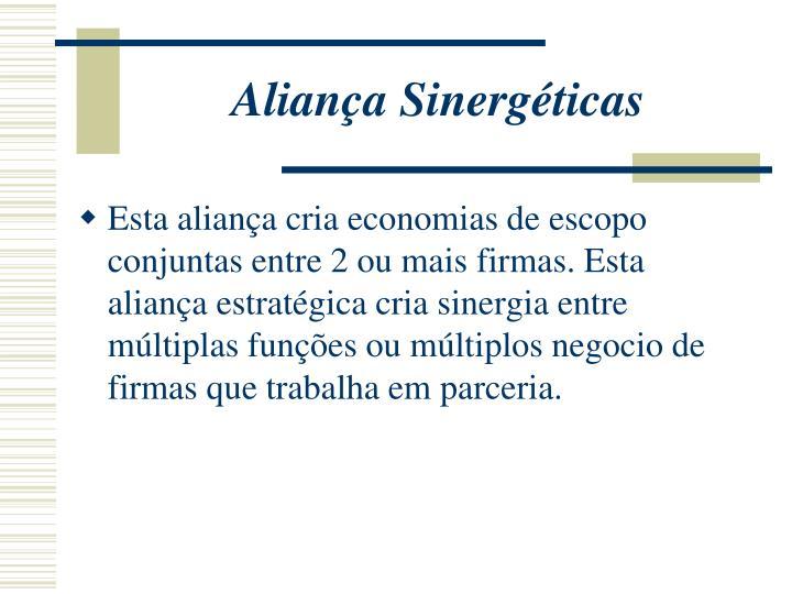 Aliança Sinergéticas