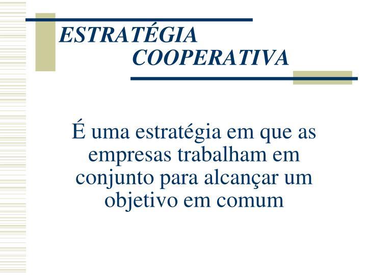 Estrat gia cooperativa1