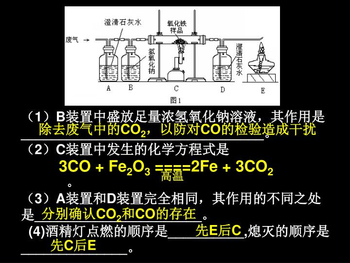 3CO + Fe