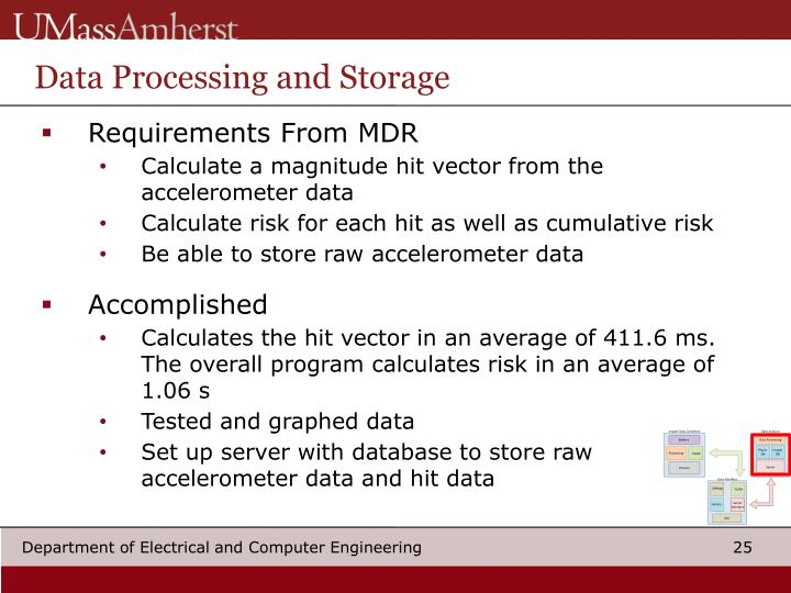 Data Processing and Storage