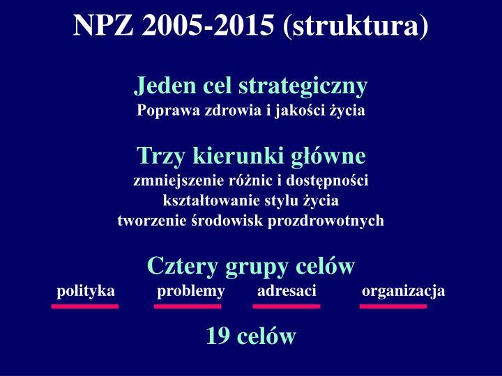 NPZ 2005-2015 (struktura)