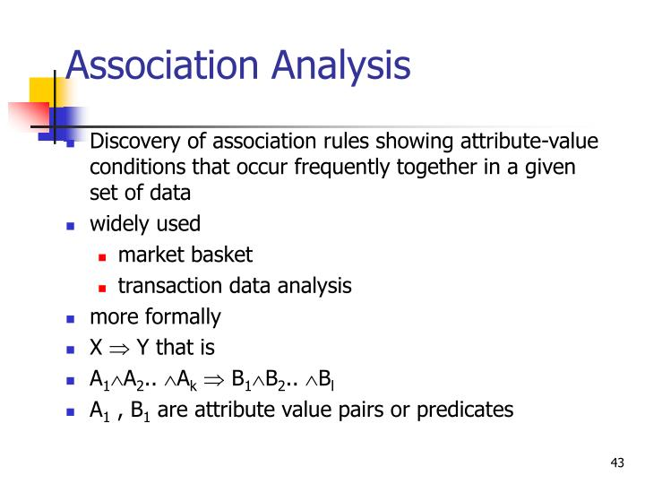 Association Analysis