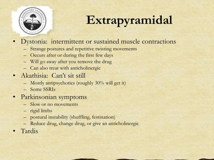 Extrapyramidal