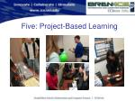 five project based learning