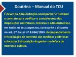 doutrina manual do tcu