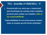 tcu ac rd o n 839 2011 p