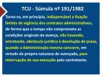 tcu s mula n 191 1982