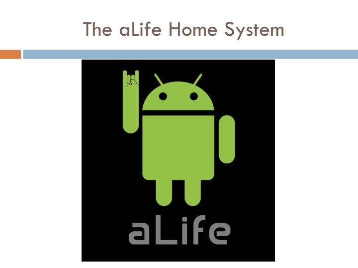 the alife home system n.