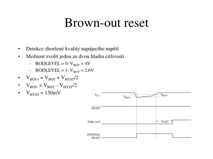 Brown-out reset