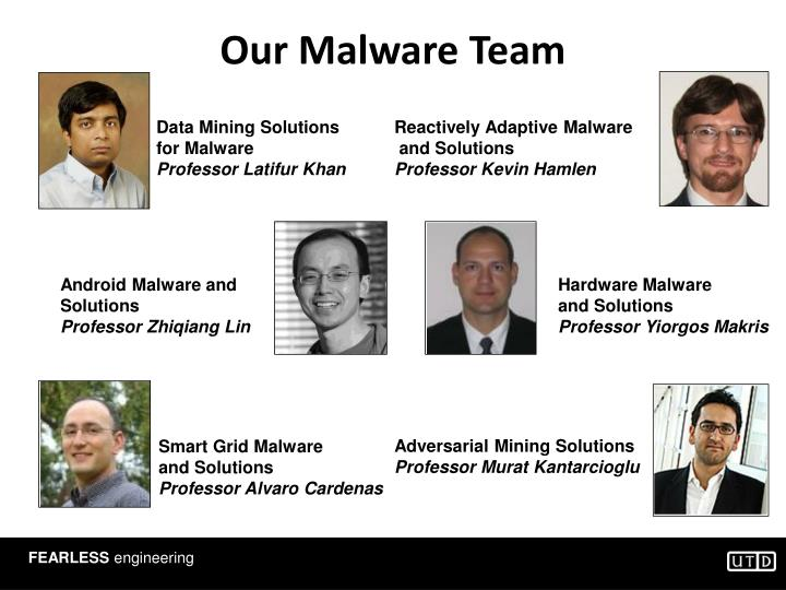 Our Malware Team