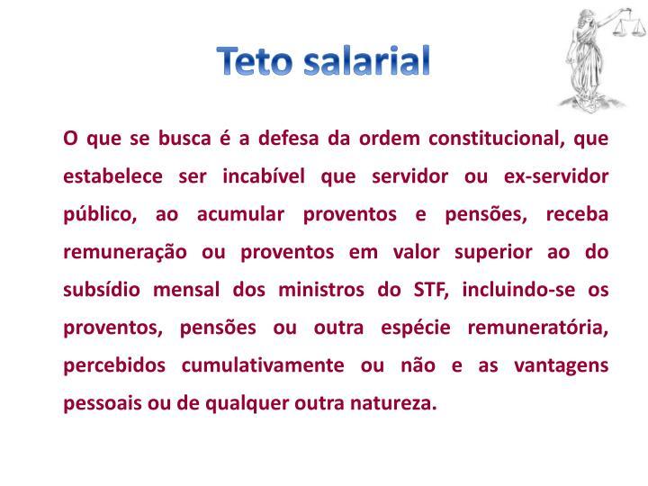 Teto salarial