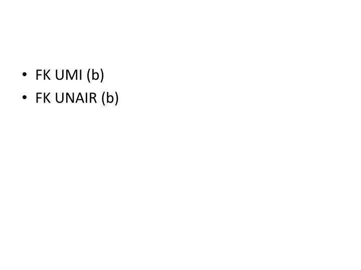FK UMI (b)