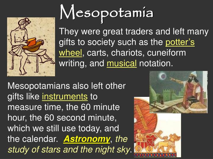 essay mesopotamian civilization As you read both the following essay and the text chapter designed to of evolving mesopotamian civilization mesopotamian.
